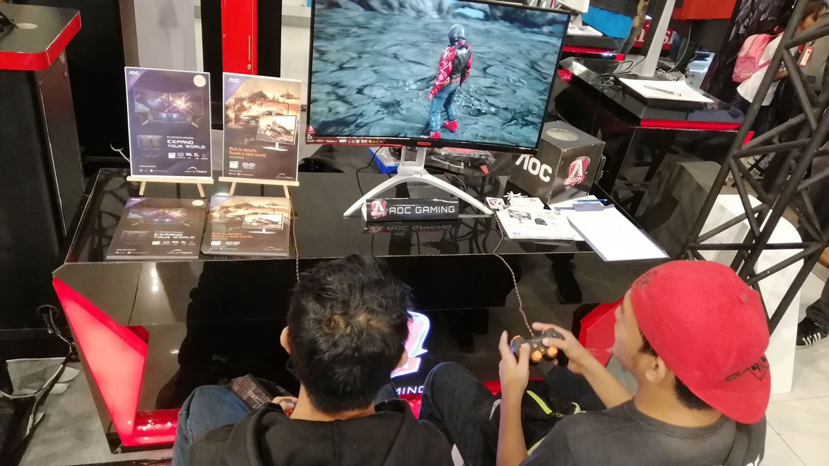 AOC Joins GameFest 2019 at SM Cyberzones Nationwide