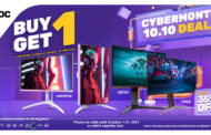 AOC Slashes Gaming Monitor Prices at the SM Megamall 2021 Cyber Month Sale
