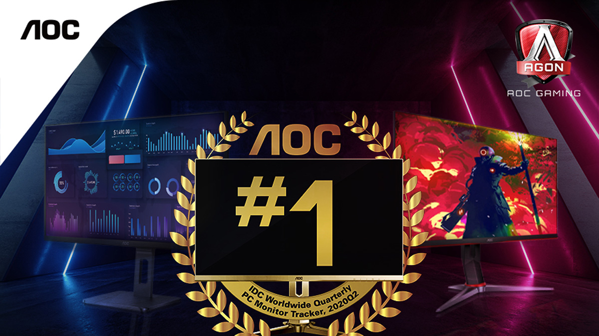 AOC is Philippines' #1 PC Monitor brand According to IDC