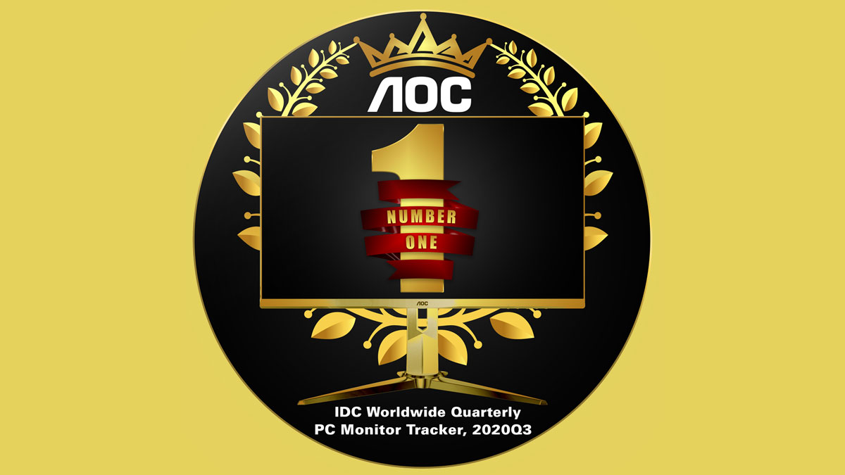 AOC, PH's #1 PC Monitor Brand According to IDC for Q3 2020