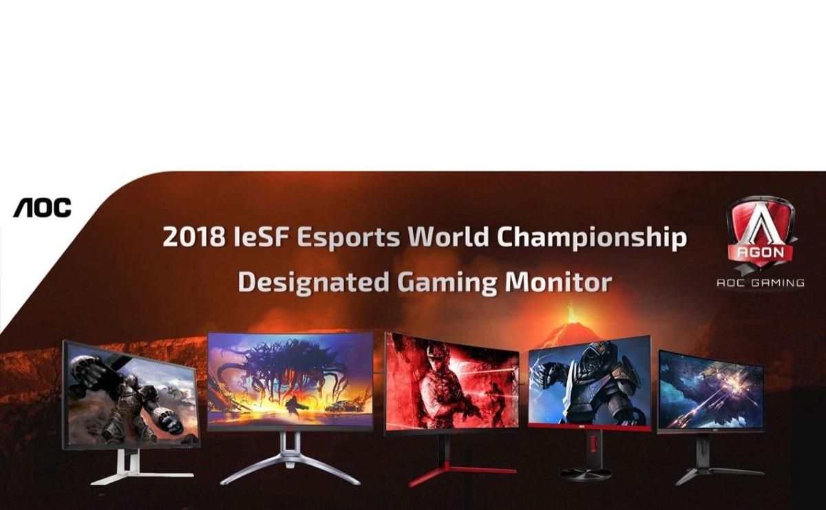 AOC Proud to Power IeSF Esports World Championship