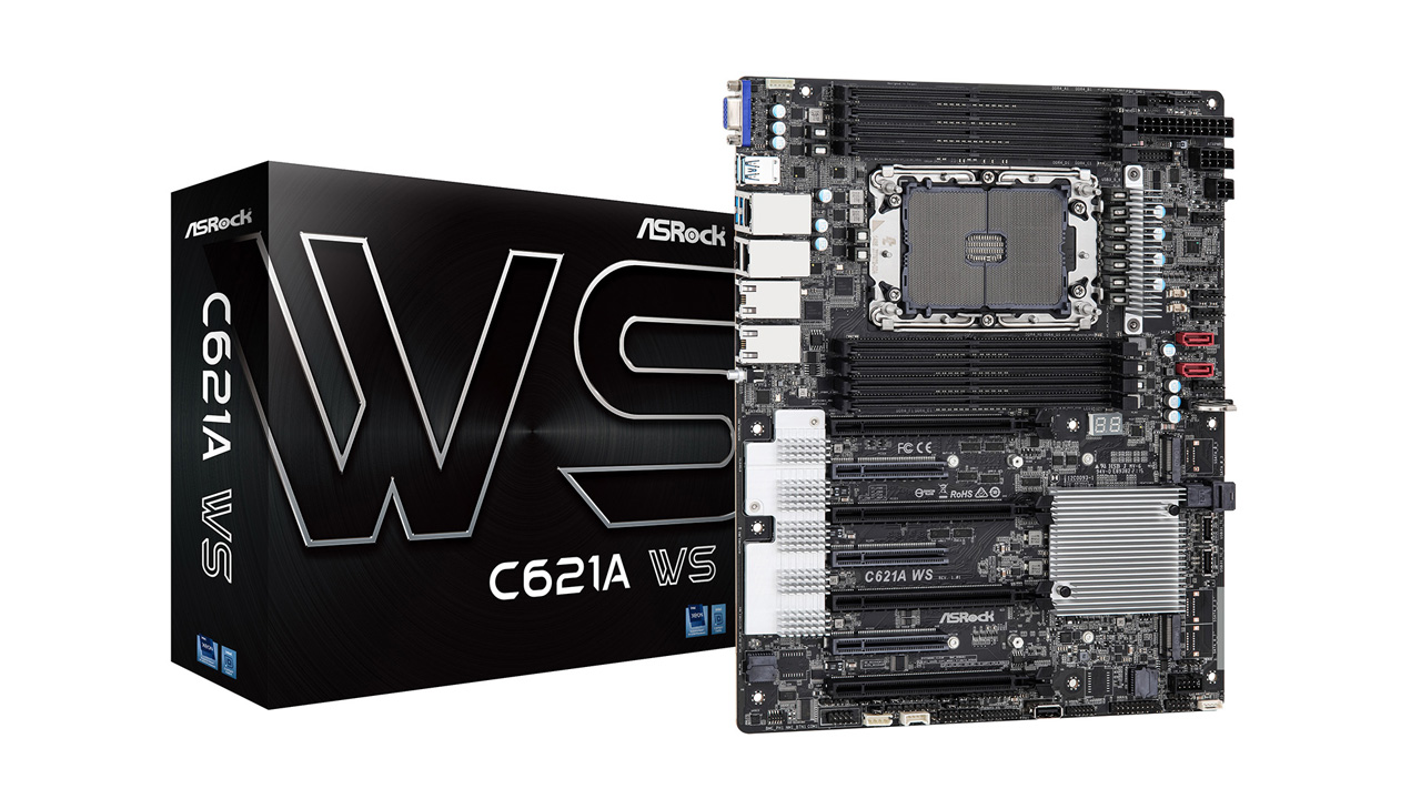 ASRock Launches C621A WS Motherboard