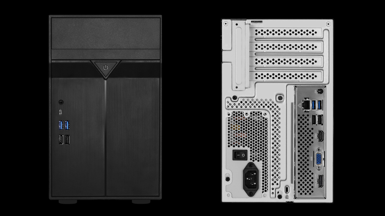 ASRock Announces 10 Liter DeskMini Max Concept PC