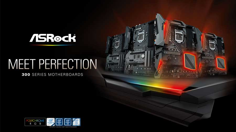 ASRock Completes Their Intel 300 Series Motherboard Line