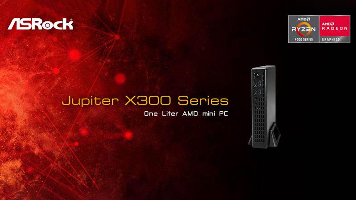 ASRock Launches Jupiter X300 1-Liter Mini PC