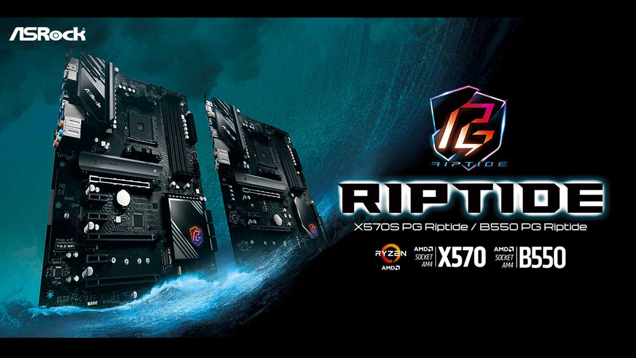 ASRock Launches PG Riptide Series Motherboards