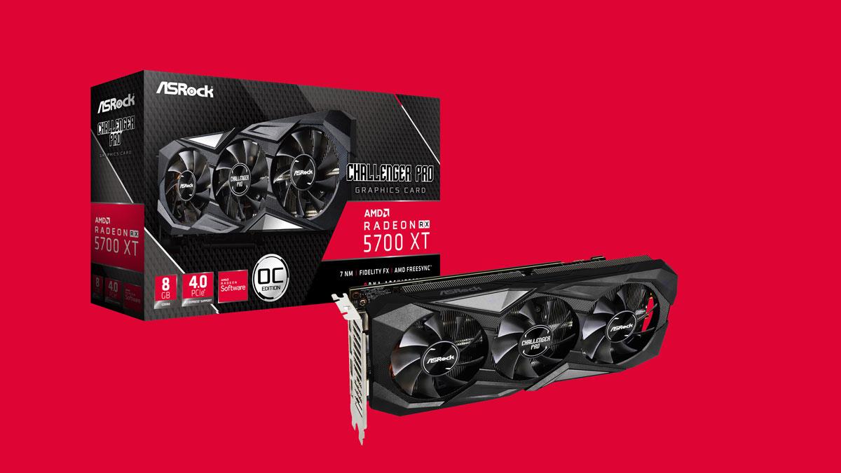 ASRock Unveils Radeon RX 5700 XT Challenger Pro 8G OC