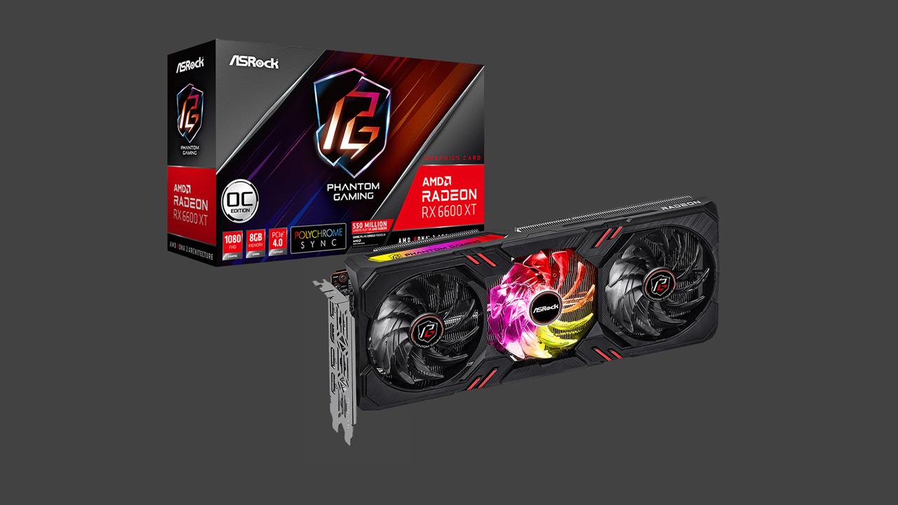 ASRock Announces Radeon RX 6600 XT Models
