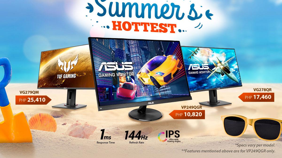 ASUS Brings 144Hz Gaming Monitors to the Masses