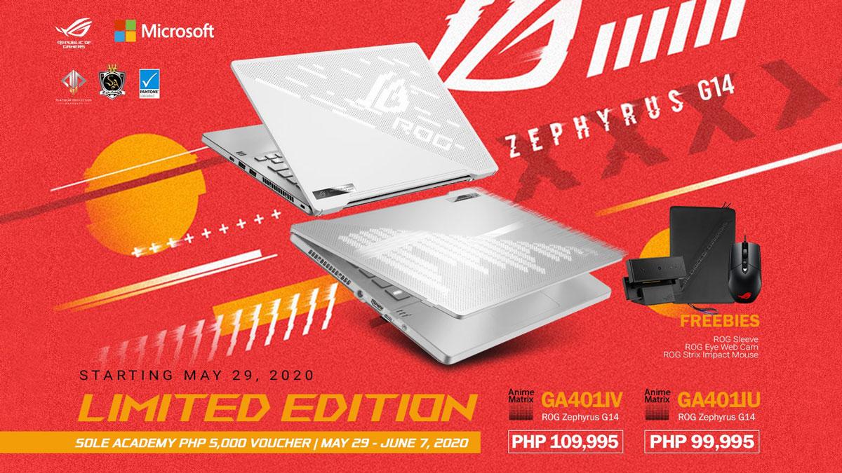 ASUS Showcases AMD Ryzen 4000 Powered Gaming Laptops