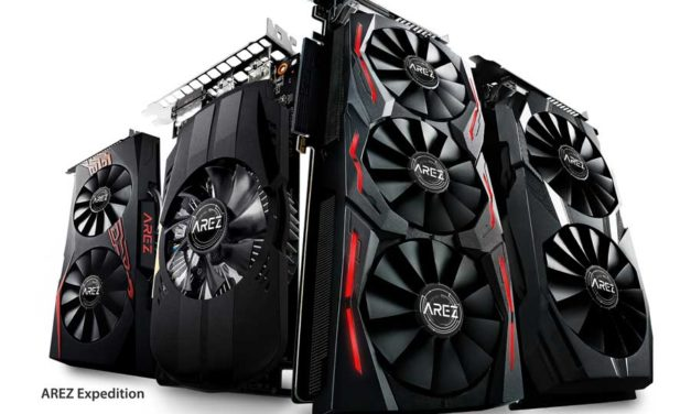 ASUS Announces AREZ Graphics Card Brand for AMD GPUs