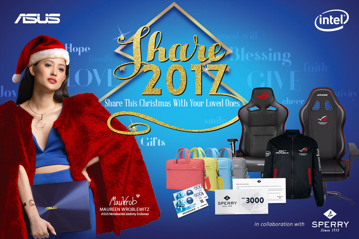 ASUS Concept Store Christmas Season Bundle Promo