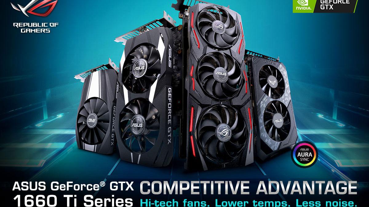 ASUS Announces Full GeForce GTX 1660 Ti Line-up