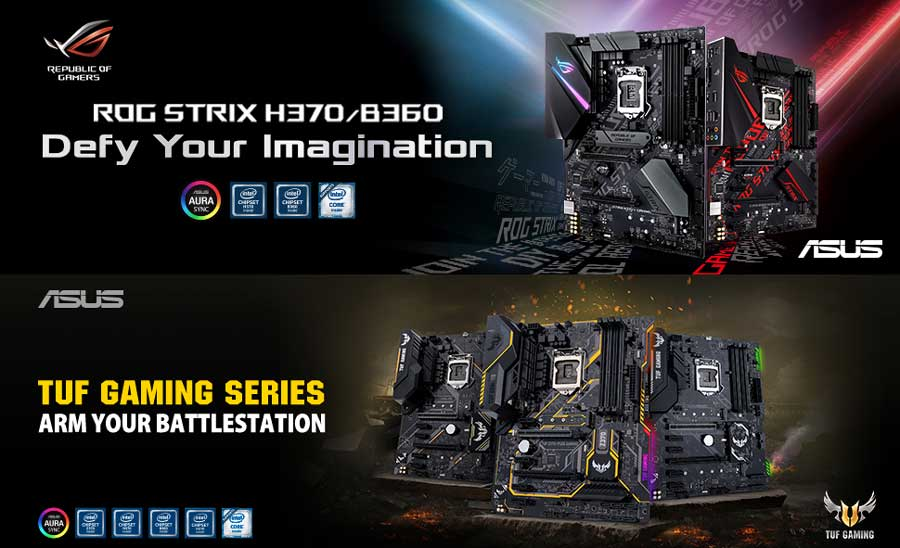 ASUS Announces Intel H370, B360 and H310 Motherboards