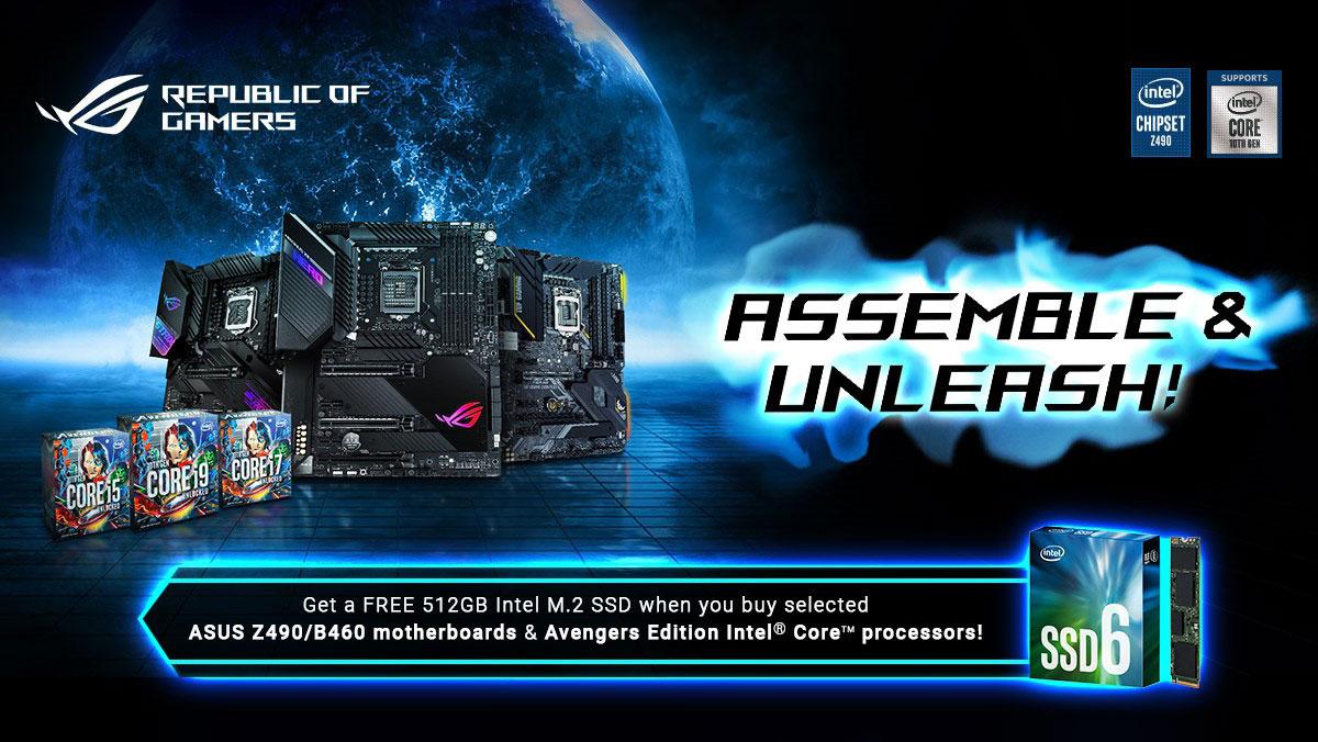 ASUS and Intel Announces Avengers SSD Bundle