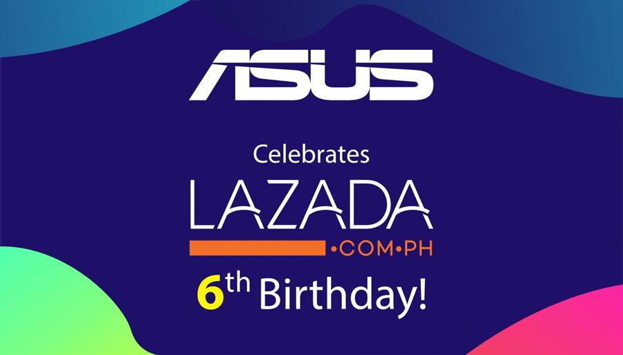 ASUS PH Celebrates Partnership with the Lazada Birthday Festival