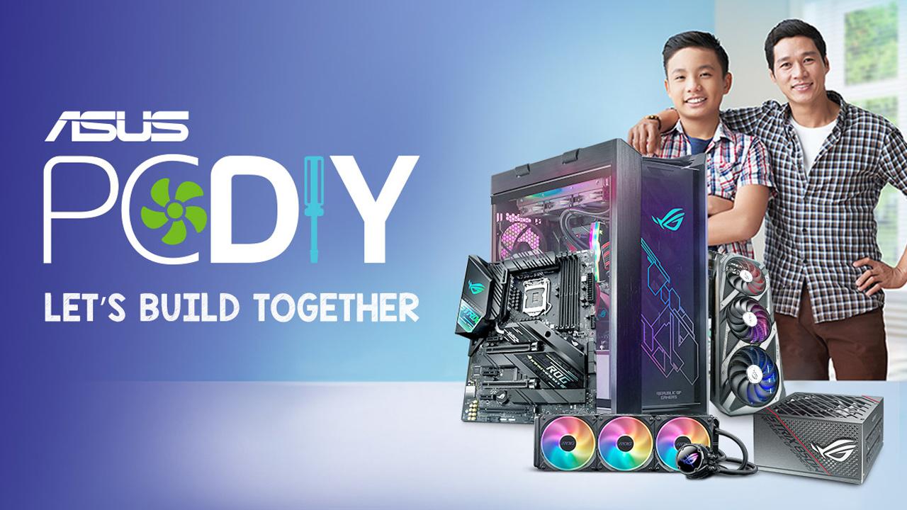 ASUS Announces Let's Build Together PC DIY Campaign
