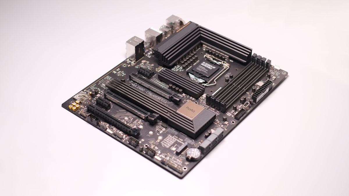 Review   ASUS ProArt Z490-Creator 10G
