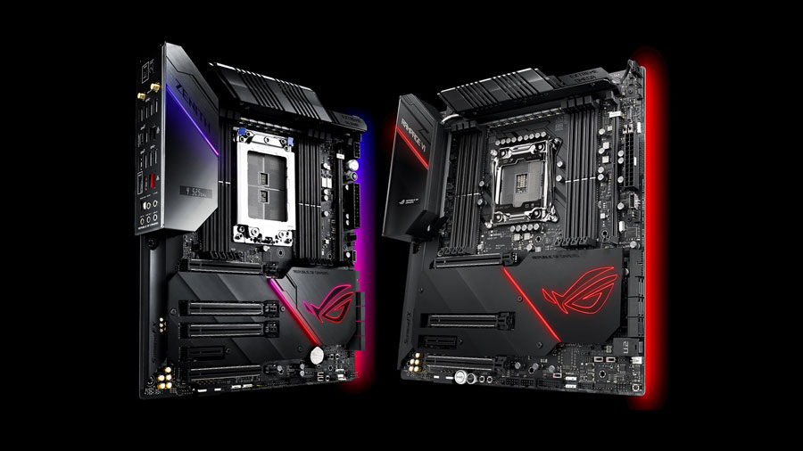 ASUS ROG Reveals Decked Out HEDT Motherboards at CES 2019