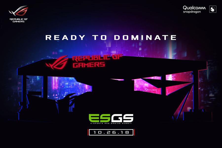 ASUS ROG Highlights Gaming Gears at ESGS 2018