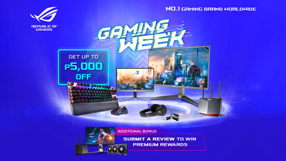 ASUS ROG Announces Gaming Week this Holiday Season