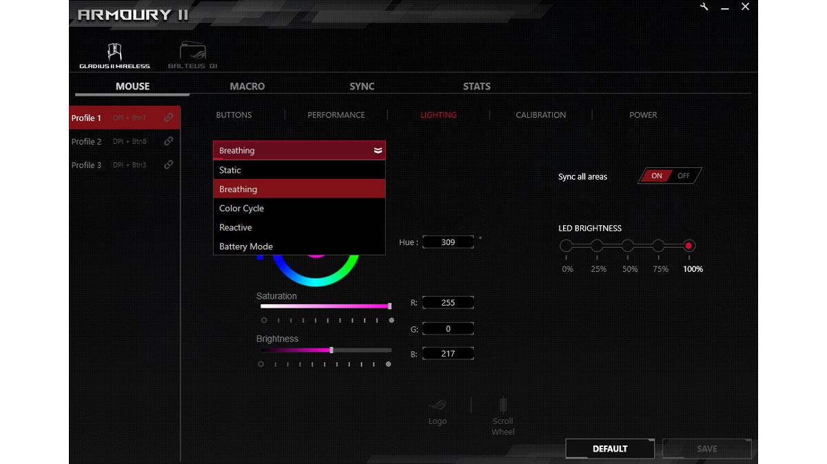 ASUS ROG Gladius II Wireless Benchmarks (1)