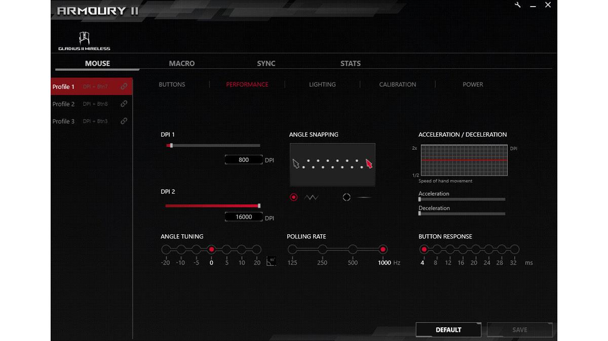 ASUS ROG Gladius II Wireless Benchmarks (2)
