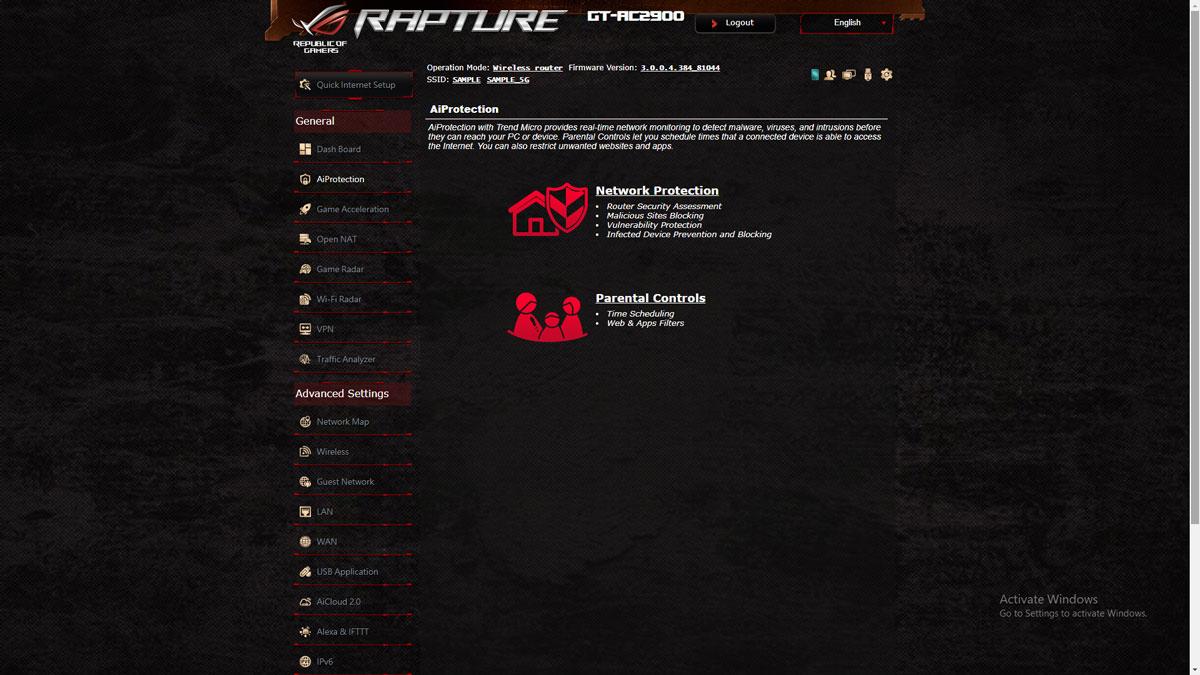 ASUS ROG Rapture GT-AC2900 Firmware (2)