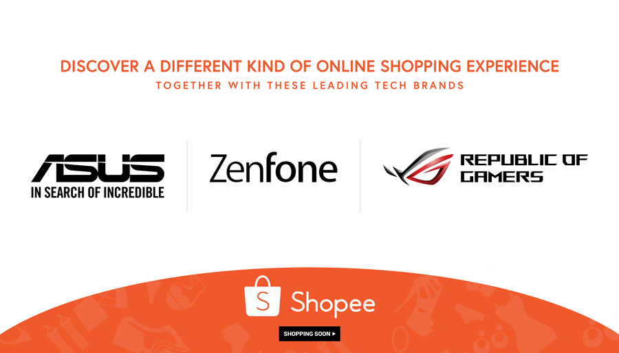 ASUS ROG Opens Online Store at Shopee