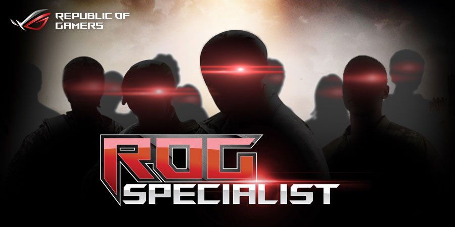 ASUS Invites You To Join The ROG Specialist Program
