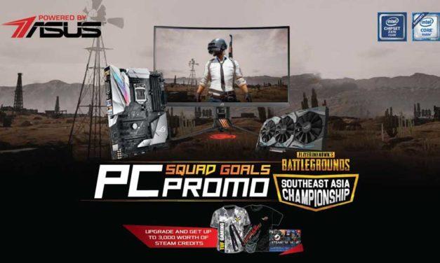 ASUS ROG Announces PC Squad Goals Promo