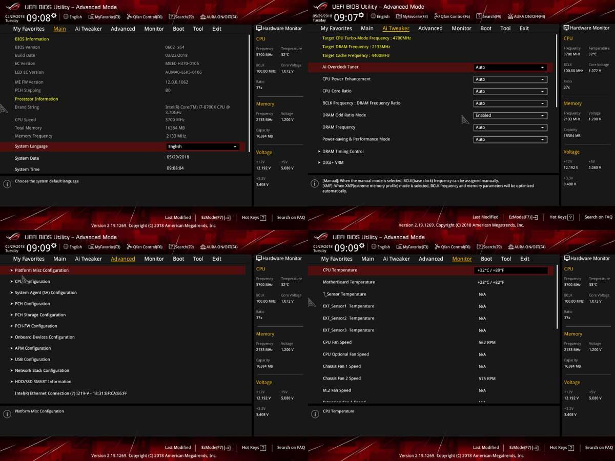ASUS ROG Stirx B360-F Gaming Bios (1)