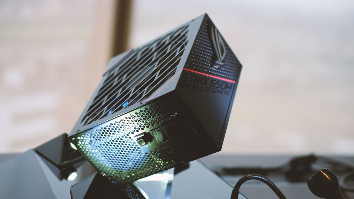 ASUS ROG Strix 750W and 650W 80+ Gold PSU Announced