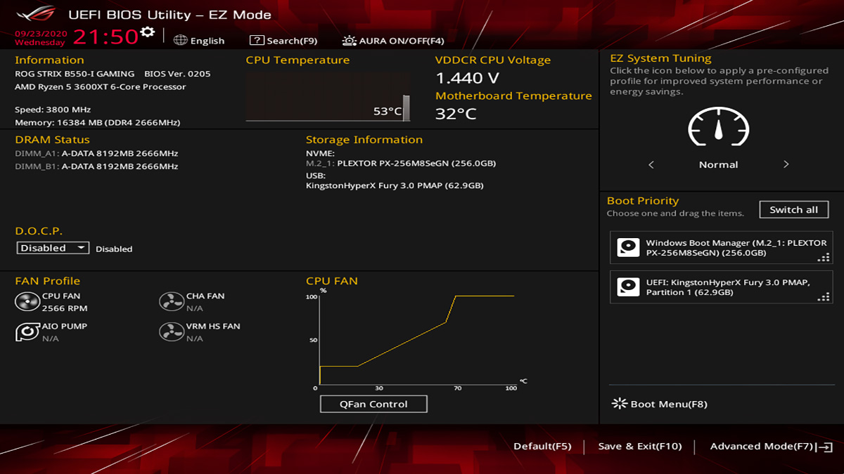 ASUS ROG Strix B550 I Gaming BIOS 1