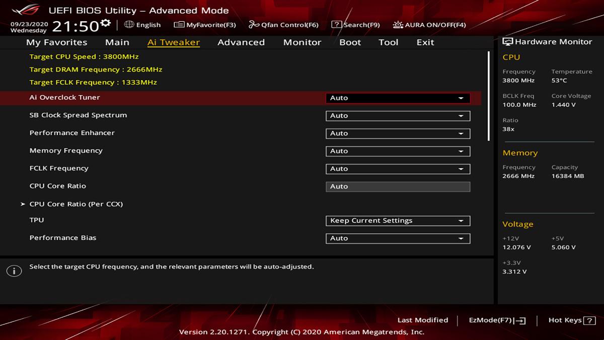 ASUS ROG Strix B550 I Gaming BIOS 2