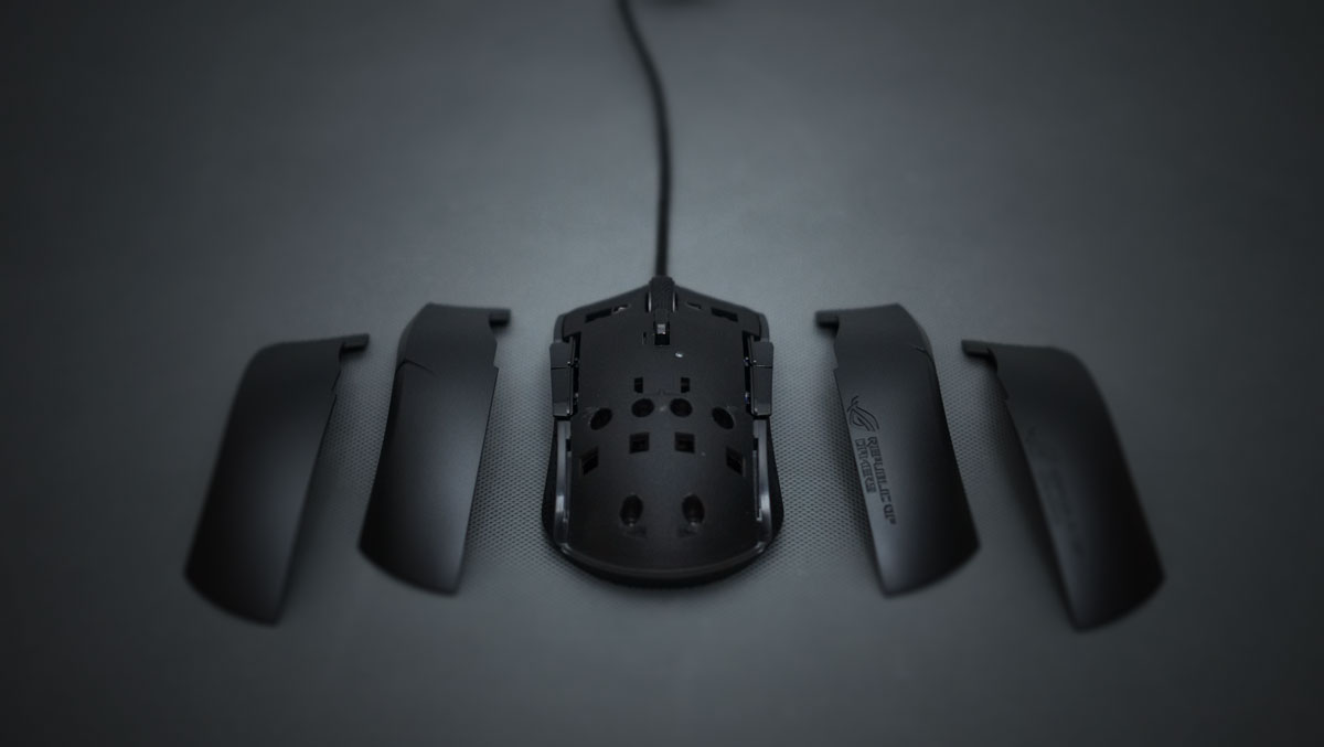 Review   ASUS ROG Strix Evolve Gaming Mouse