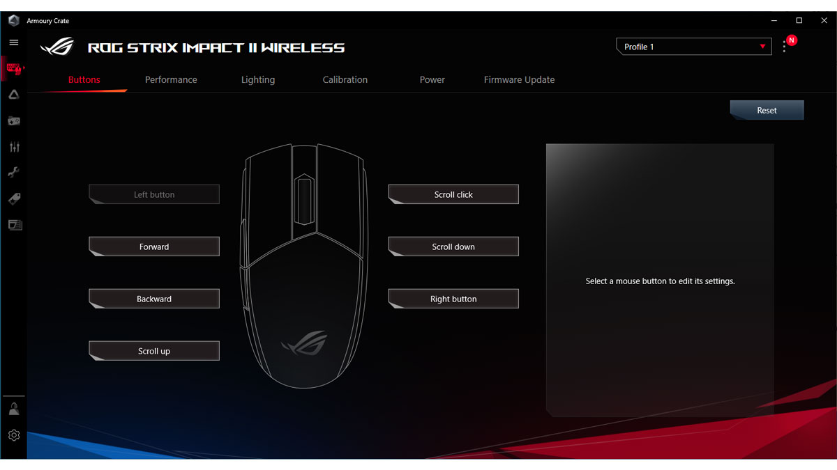 ASUS ROG Strix Impact II Wireless Images Software 1