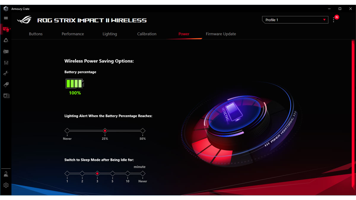 ASUS ROG Strix Impact II Wireless Images Software 5