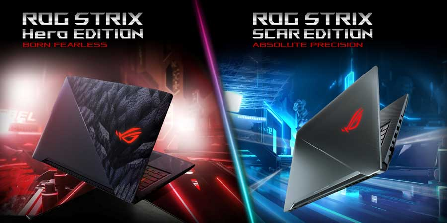 ASUS Details 8th-Gen ROG Strix Scar and Hero Notebooks
