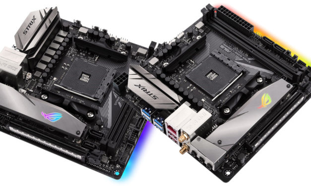 ASUS ROG Strix X370-I Gaming & B350-I Gaming AM4 ITX Announced