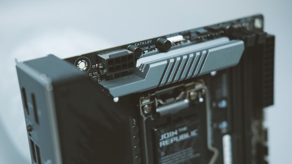 ASUS ROG Strix Z490 I Gaming Preview 10
