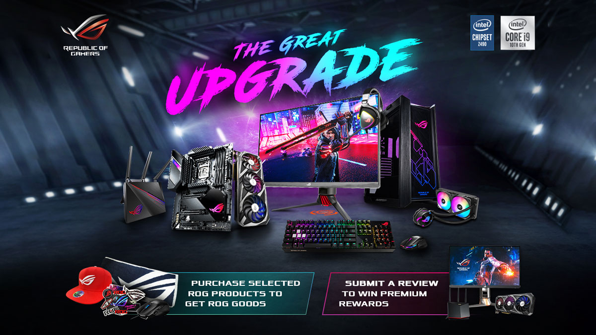 ASUS ROG Outs Rates Your Gear Campaign