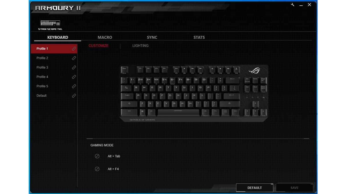 ASUS STRIX Scope TKL Deluxe Review 1