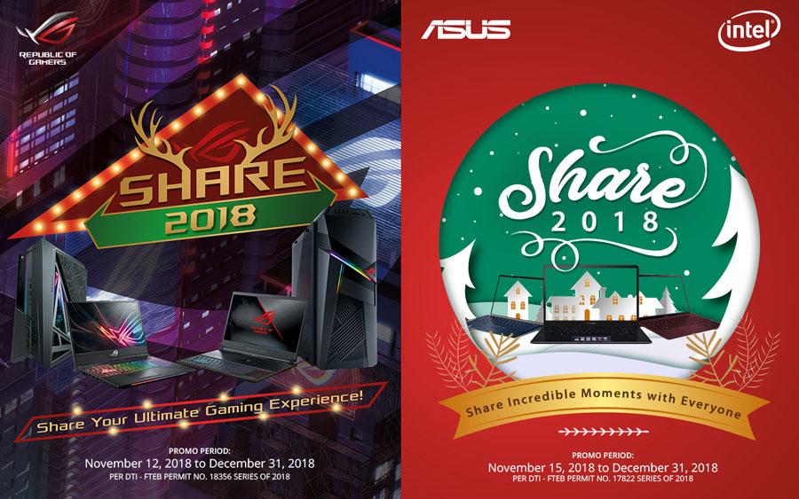 ASUS Announces Share 2018 Christmas Promo