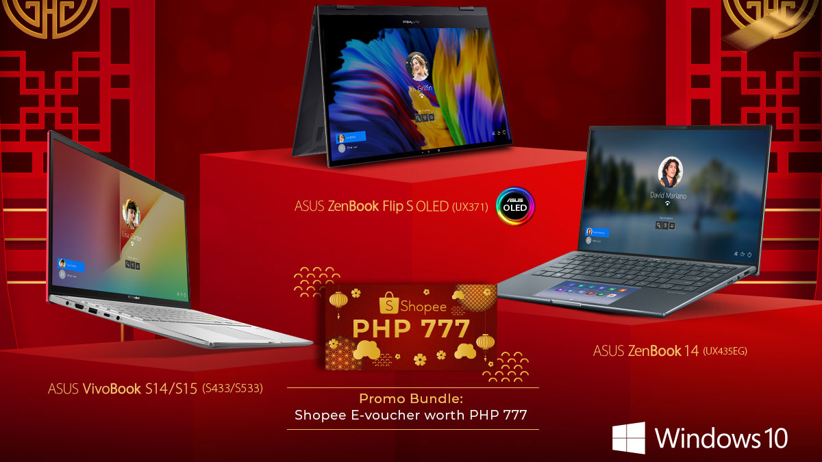 ASUS Announces CNY 2021 Shopee Giveaway