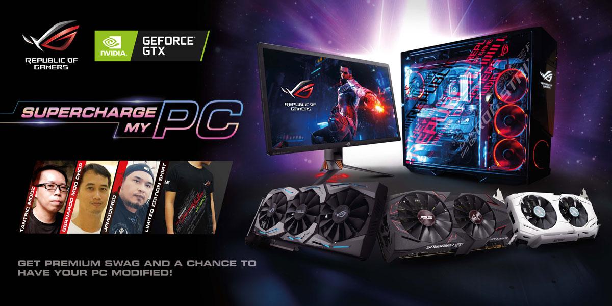 ASUS ROG Announces Supercharge My PC Campaign