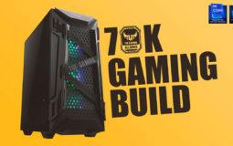 70K Gaming PC Build: Exploring the ASUS TUF Gaming Alliance Combo