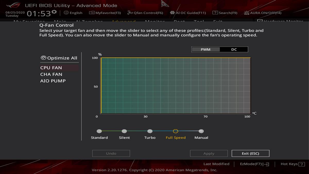 ASUS Z490 I Gaming BIOS UEFI 3