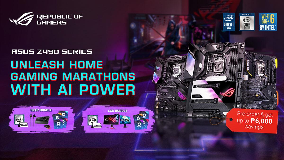 ASUS Announces Z490 Motherboard Pre-order Program