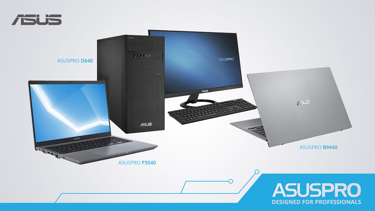 ASUSPRO Expands Commercial Device Portfolio this 2019